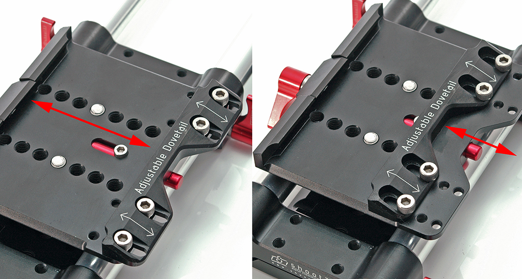 Shoot35 CINEplate Pro - uniwersalny baseplate dla aparatów i kamer kompatybilny z płytką aparatu w standardzie Manfrotto 501PL i innymi