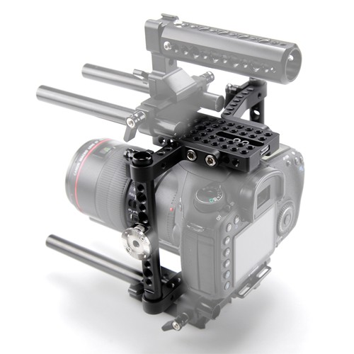 SmallRig 1584 VersaFrame Cage - klatkę dla aparatów DSLR SmallRiga możesz rozbudować o potrzebne akcesoria, nawet do kompletnego riga czy systemu stabilizacji naramiennej