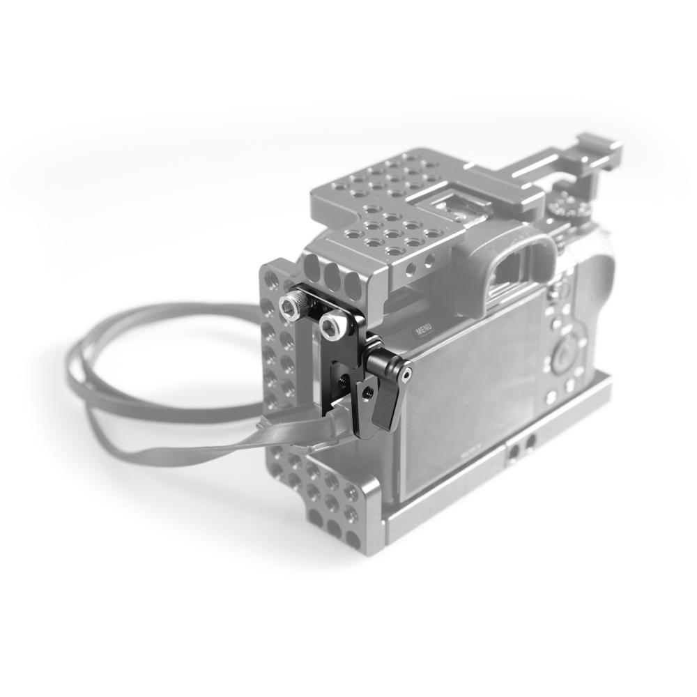 SmallRig 1679 - zabezpieczenie i ochrona gniazda HDMI oraz USB w aparatach Sony A7II, A7RII i A7SII - uzupełnienie klatek ochronnych SmallRig 1673 oraz 1660