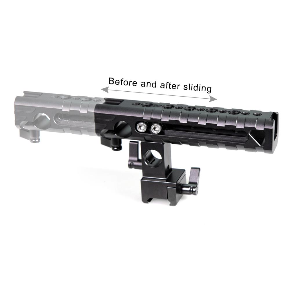SmallRig 1720 QR Cheese Handle - uchwyt górny dla aparatu lub kamery z możliwością zmiany ustawienia - przesuwania rączki