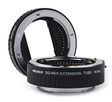 Viltrox DG-NEX - pierścienie pośrednie makro do aparatów Sony E